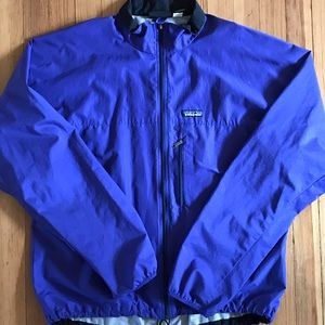 Vintage Patagonia Purple zipup light Windbreaker